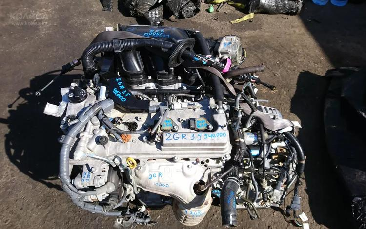 Двигатель 2gr 3. 5 на Тойота камри40 за 560 000 тг. в Алматы