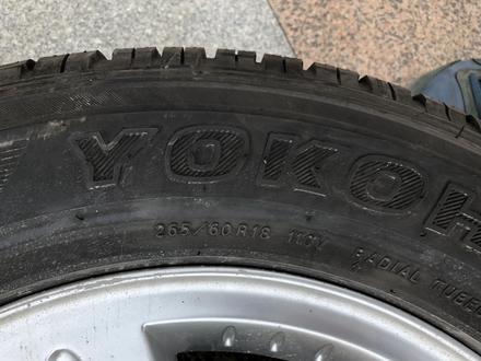 Запаска Запасное колесо запасные колеса на Mercedes Benz G class мерседес за 50 000 тг. в Алматы – фото 2