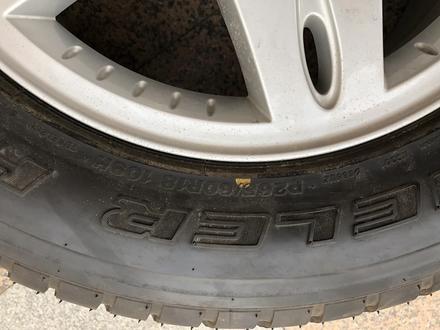 Запаска Запасное колесо запасные колеса на Mercedes Benz G class мерседес за 50 000 тг. в Алматы – фото 4