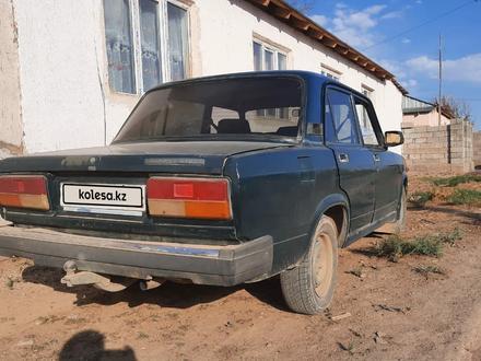 ВАЗ (Lada) 2107 2006 года за 450 000 тг. в Арысь – фото 9