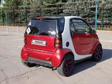 Smart ForTwo 2001 года за 1 850 000 тг. в Алматы – фото 3