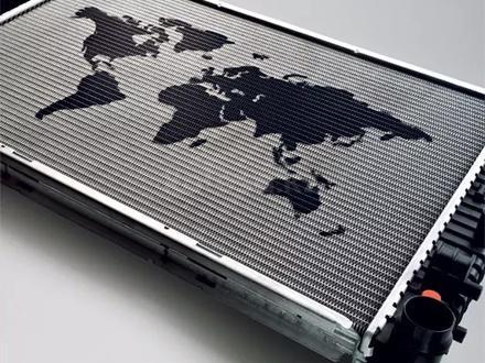 Радиатор охлаждения двигателя. Toyota Solara (04-09) за 777 тг. в Алматы