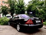 Mercedes-Benz S 500 1999 года за 1 900 000 тг. в Петропавловск – фото 4