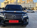 Lexus LX 570 2013 года за 23 700 000 тг. в Нур-Султан (Астана)