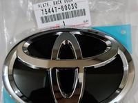 Значок эмблема Оригинал задняя на крышку багажника за 10 000 тг. в Актобе