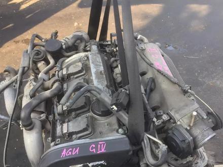 Двигатель на Фольцваген Гольф4 2.0 турбо AGU 1997-2004г.в за 240 000 тг. в Алматы – фото 2