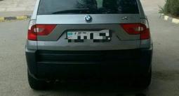 BMW X3 2004 года за 3 800 000 тг. в Аксай – фото 2