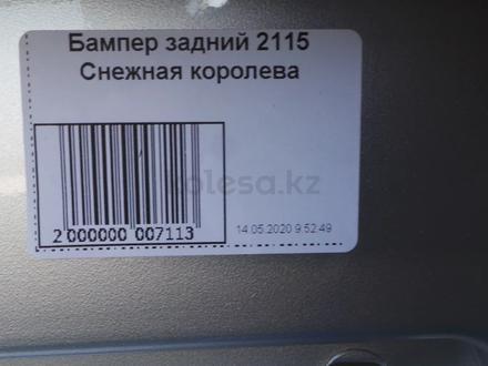 Задний бампер Ваз 2115 за 18 000 тг. в Алматы – фото 4