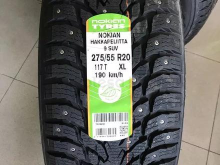 275/60 r20 Nokian Hakkapeliitta 9 SUV за 96 900 тг. в Алматы