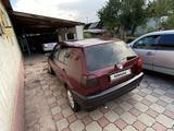 Volkswagen Golf 1993 года за 1 000 000 тг. в Алматы – фото 4