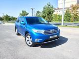 Toyota Highlander 2013 года за 13 000 000 тг. в Шымкент