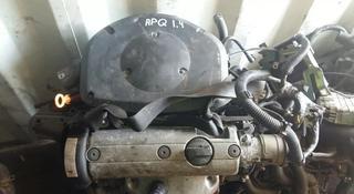 Контрактный двигатель Volkswagen Polo 6N1 1.4 APQ за 150 000 тг. в Семей