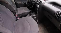 Peugeot 206 2007 года за 1 650 000 тг. в Костанай – фото 2