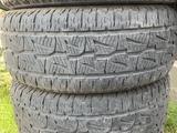Шины на крузак, прадо, в хорошем состоянии, без порезов и шишек за 80 000 тг. в Алматы
