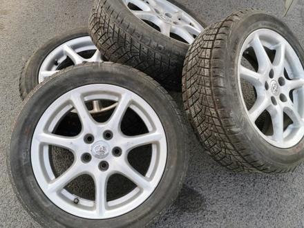 R17 Toyota тойота диски с резиной! за 138 750 тг. в Алматы