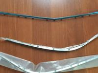 Mercedes w221 Хром никель накладка на передний бампер мерседес 221 за 10 000 тг. в Алматы