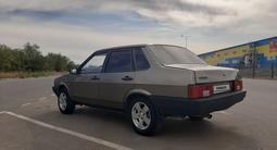 ВАЗ (Lada) 21099 (седан) 2001 года за 500 000 тг. в Уральск – фото 3