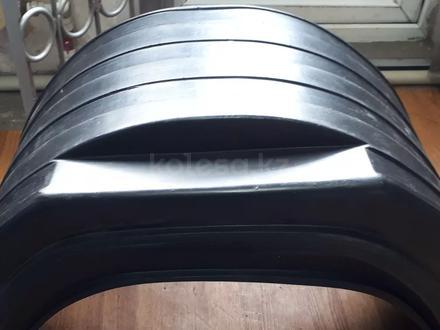 Брызговик задний пластиковый круглый, квадратный Газель к/т 2шт за 5 000 тг. в Алматы