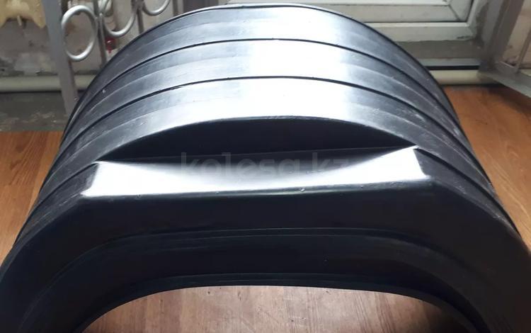 Брызговик задний пластиковый круглый, квадратный Газель к/т 2шт за 4 800 тг. в Алматы