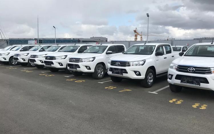 Toyota Hilux 2019 года за 16 920 000 тг. в Атырау