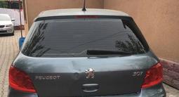 Peugeot 307 2007 года за 2 100 000 тг. в Алматы – фото 3