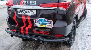 Бампер РИФ задний Toyota Fortuner 2015 + c квадратом под… за 216 000 тг. в Алматы