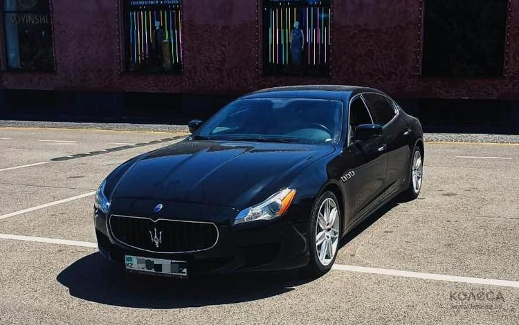 Maserati Quattroporte 2014 года за 25 000 000 тг. в Алматы