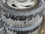 Диски титановые с зимней резиной R 14 за 85 000 тг. в Усть-Каменогорск