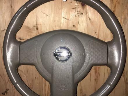 Руль на Nissan Tiida в сборе с Airbag за 20 000 тг. в Алматы