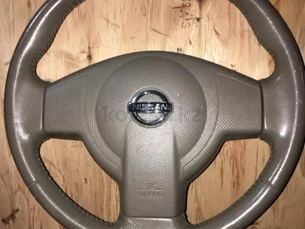 Руль на Nissan Tiida в сборе с Airbag за 20 000 тг. в Алматы – фото 2