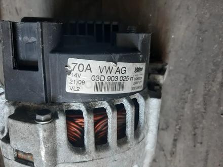 Оригинальный генератор Шкода Фабия Skoda Fabia 1.2 09d903025h за 32 500 тг. в Семей – фото 2