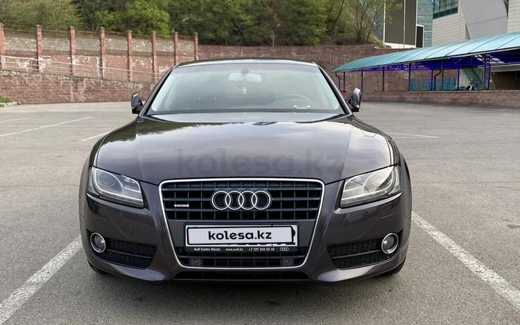 Audi A5 2010 года за 7 600 000 тг. в Алматы