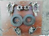Цапфа ступица тормозной суппорт диски за 20 000 тг. в Алматы – фото 2