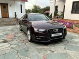 Audi A5 2015 года за 12 300 000 тг. в Алматы – фото 3