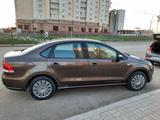 Volkswagen Polo 2015 года за 3 100 000 тг. в Нур-Султан (Астана) – фото 4