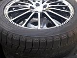 Диски комплект, R17 Bridgestone 5x100 из Японии за 190 000 тг. в Алматы – фото 2