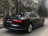 Audi A8 2014 года за 15 000 000 тг. в Алматы – фото 4