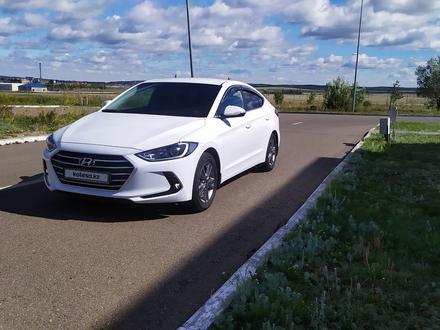 Hyundai Elantra 2018 года за 6 850 000 тг. в Кокшетау