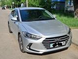 Hyundai Elantra 2018 года за 7 800 000 тг. в Петропавловск