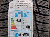 Комплект резина размер 205 55 16 Nokian Tyres за 30 000 тг. в Алматы