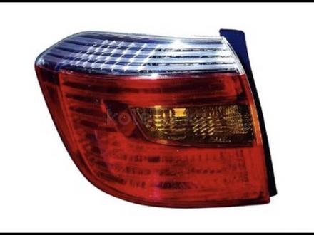 Задние фонари Toyota Highlander за 30 000 тг. в Алматы – фото 2