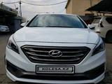 Hyundai Sonata 2016 года за 8 000 000 тг. в Алматы – фото 3