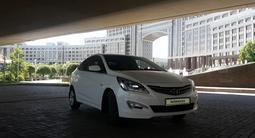 Hyundai Accent 2016 года за 4 650 000 тг. в Нур-Султан (Астана) – фото 3