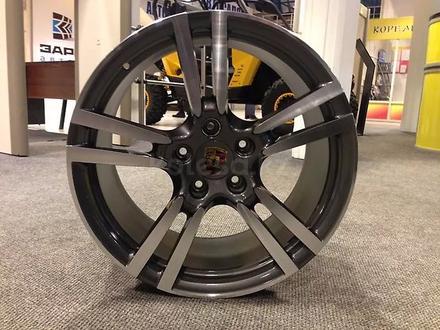 Новые диски на Porsche Cayenne R20-R21 Имеются шины лето-зима Датчики дав за 250 000 тг. в Алматы – фото 6