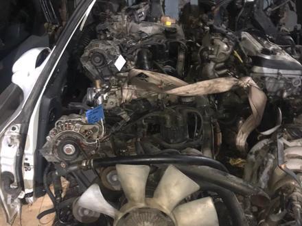 Двигатель на Паджеро 3.0 за 315 000 тг. в Алматы – фото 2