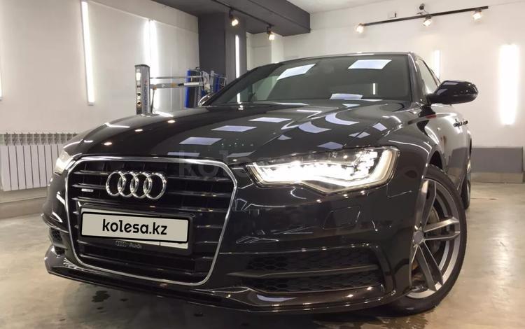 Audi A6 2012 года за 8 700 000 тг. в Алматы