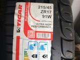 215/45 ZR17 91W XL Tigar ultra high performance за 24 000 тг. в Кокшетау