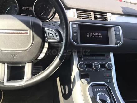 Land Rover Range Rover Evoque 2012 года за 10 300 000 тг. в Алматы – фото 11