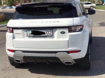 Land Rover Range Rover Evoque 2012 года за 10 300 000 тг. в Алматы – фото 3