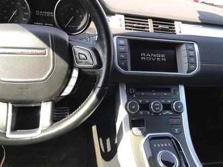 Land Rover Range Rover Evoque 2012 года за 10 300 000 тг. в Алматы – фото 9